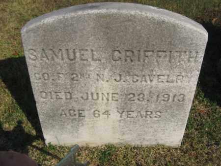 GRIFFITH, SAMUEL - Burlington County, New Jersey | SAMUEL GRIFFITH - New Jersey Gravestone Photos