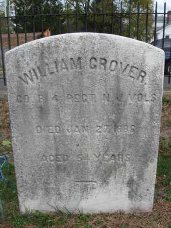 GROVER, WILLIAM - Burlington County, New Jersey | WILLIAM GROVER - New Jersey Gravestone Photos