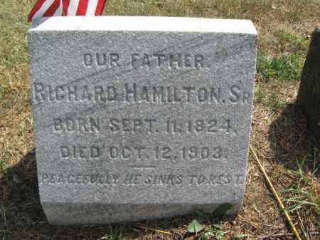 HAMILTON,SR., RICHARD - Burlington County, New Jersey | RICHARD HAMILTON,SR. - New Jersey Gravestone Photos