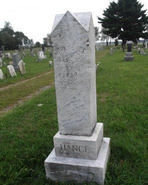 HANCE, JOHN - Burlington County, New Jersey | JOHN HANCE - New Jersey Gravestone Photos