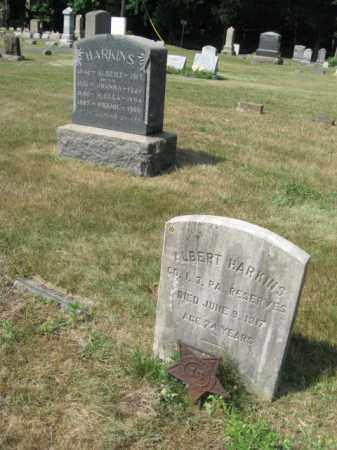 HARKINS, ALBERT - Burlington County, New Jersey   ALBERT HARKINS - New Jersey Gravestone Photos