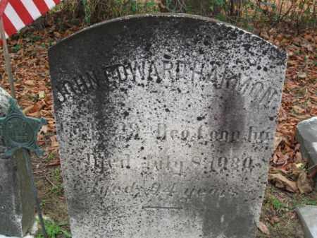HARMON, JOHN EDWARD - Burlington County, New Jersey | JOHN EDWARD HARMON - New Jersey Gravestone Photos