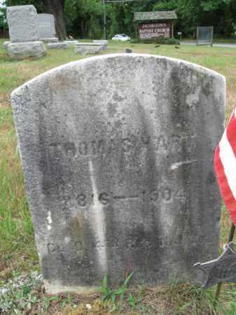HART, THOMAS - Burlington County, New Jersey | THOMAS HART - New Jersey Gravestone Photos