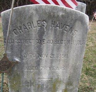 HAVENS, CHARLES - Burlington County, New Jersey | CHARLES HAVENS - New Jersey Gravestone Photos