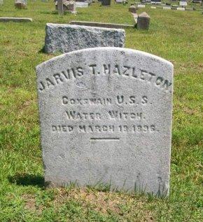 HAZELTON, JARVIS T. - Burlington County, New Jersey   JARVIS T. HAZELTON - New Jersey Gravestone Photos