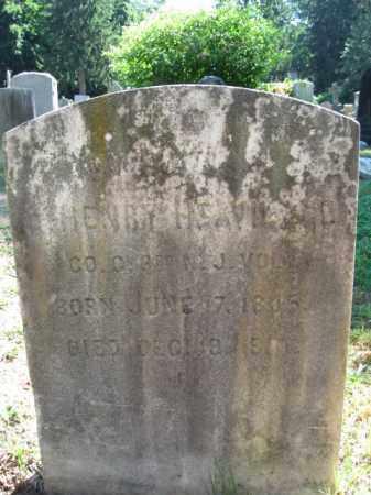 HEAVILAND, JOHN HENRY - Burlington County, New Jersey | JOHN HENRY HEAVILAND - New Jersey Gravestone Photos