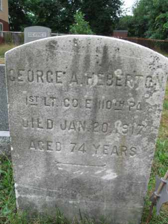 HEBERTON, GEORGE A. - Burlington County, New Jersey | GEORGE A. HEBERTON - New Jersey Gravestone Photos