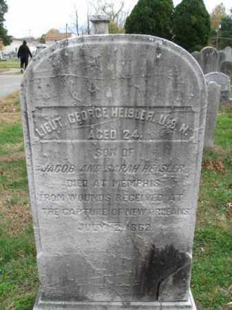 HEIBLER, GEORGE - Burlington County, New Jersey   GEORGE HEIBLER - New Jersey Gravestone Photos