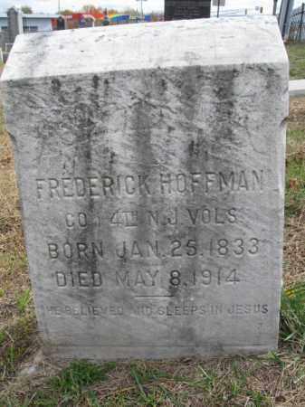HOFFMAN, FREDERICK - Burlington County, New Jersey   FREDERICK HOFFMAN - New Jersey Gravestone Photos