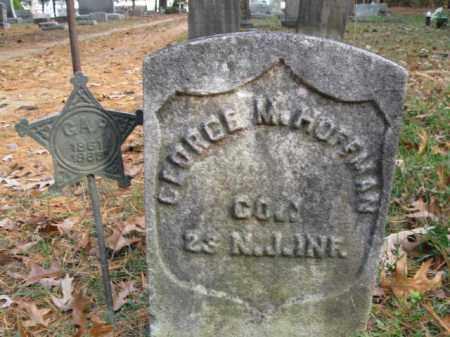HOFFMAN, GEORGE M. - Burlington County, New Jersey   GEORGE M. HOFFMAN - New Jersey Gravestone Photos