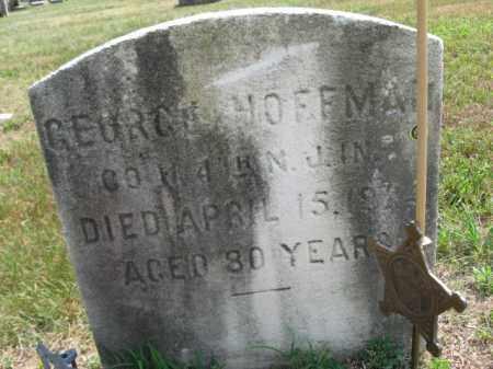 HOFFMAN, GEORGE - Burlington County, New Jersey   GEORGE HOFFMAN - New Jersey Gravestone Photos