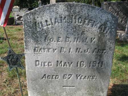 HOFFMAN, WILLIAM - Burlington County, New Jersey   WILLIAM HOFFMAN - New Jersey Gravestone Photos