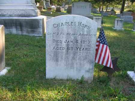 HORN, CHARLES - Burlington County, New Jersey | CHARLES HORN - New Jersey Gravestone Photos