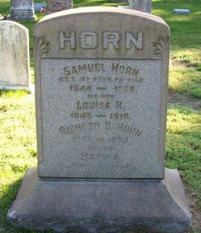 HORN, SAMUEL - Burlington County, New Jersey | SAMUEL HORN - New Jersey Gravestone Photos