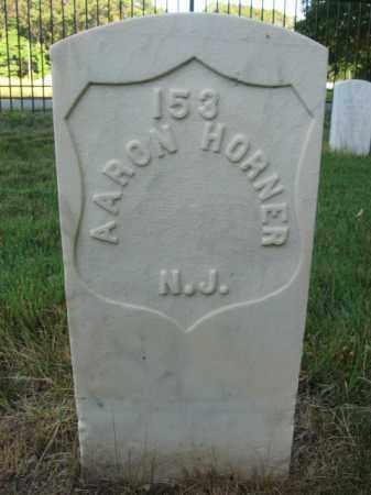 HORNER, AARON - Burlington County, New Jersey | AARON HORNER - New Jersey Gravestone Photos