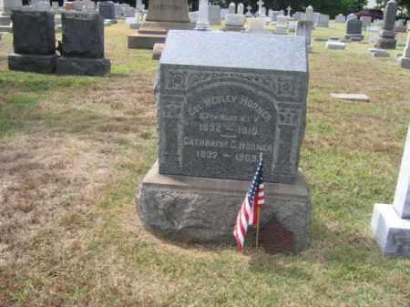 HORNER, COL.WESLEY - Burlington County, New Jersey   COL.WESLEY HORNER - New Jersey Gravestone Photos