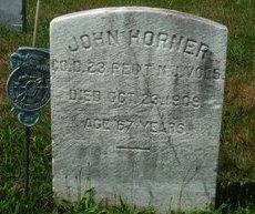 HORNER,JR., JOHN - Burlington County, New Jersey | JOHN HORNER,JR. - New Jersey Gravestone Photos