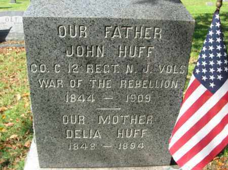 HUFF, JOHN - Burlington County, New Jersey   JOHN HUFF - New Jersey Gravestone Photos