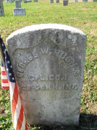 HUGHES, GEORGE W. - Burlington County, New Jersey   GEORGE W. HUGHES - New Jersey Gravestone Photos