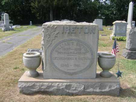 IRETON, PVT.WILLIAM G. - Burlington County, New Jersey | PVT.WILLIAM G. IRETON - New Jersey Gravestone Photos