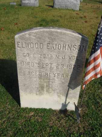 JOHNSON, ELWOOD E. - Burlington County, New Jersey | ELWOOD E. JOHNSON - New Jersey Gravestone Photos