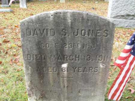 JONES, DAVID S. - Burlington County, New Jersey   DAVID S. JONES - New Jersey Gravestone Photos