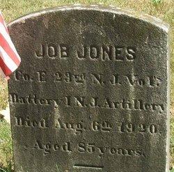 JONES, JOB - Burlington County, New Jersey | JOB JONES - New Jersey Gravestone Photos