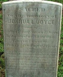JOYCE, JOSHUA L. - Burlington County, New Jersey | JOSHUA L. JOYCE - New Jersey Gravestone Photos