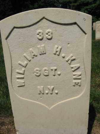 KANE, WILLIAM H. - Burlington County, New Jersey | WILLIAM H. KANE - New Jersey Gravestone Photos