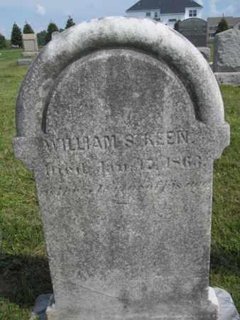 KEEN, WILLIAM - Burlington County, New Jersey | WILLIAM KEEN - New Jersey Gravestone Photos