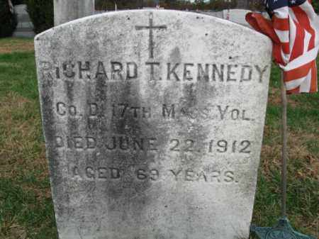 KENNEDY, RICHARD T. - Burlington County, New Jersey   RICHARD T. KENNEDY - New Jersey Gravestone Photos