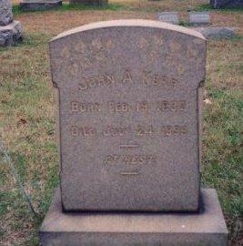 KERR, JOHN A. - Burlington County, New Jersey | JOHN A. KERR - New Jersey Gravestone Photos