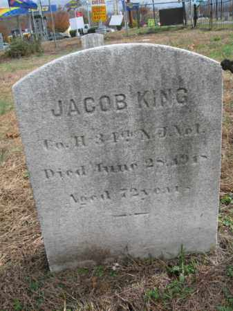 KING, JACOB - Burlington County, New Jersey | JACOB KING - New Jersey Gravestone Photos