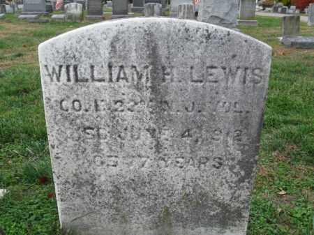 LEWIS, WILLIAM H. - Burlington County, New Jersey | WILLIAM H. LEWIS - New Jersey Gravestone Photos