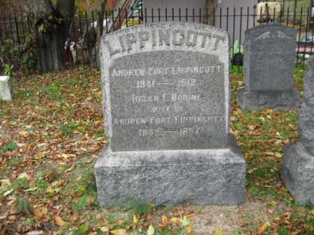 LIPPINCOTT, ANDREW FORT - Burlington County, New Jersey | ANDREW FORT LIPPINCOTT - New Jersey Gravestone Photos
