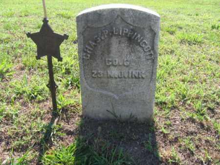 LIPPINCOTT, CHARLES P. - Burlington County, New Jersey | CHARLES P. LIPPINCOTT - New Jersey Gravestone Photos