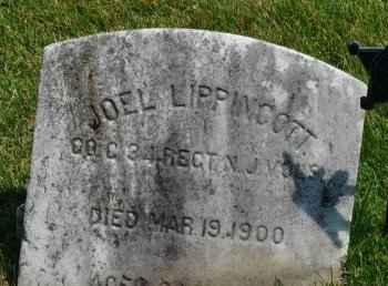 LIPPINCOTT, JOEL - Burlington County, New Jersey   JOEL LIPPINCOTT - New Jersey Gravestone Photos