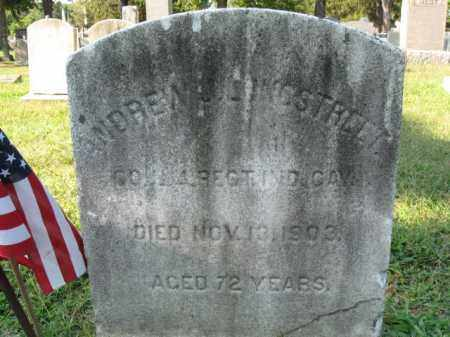 LONGSTREET, ANDREW J. - Burlington County, New Jersey   ANDREW J. LONGSTREET - New Jersey Gravestone Photos