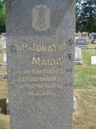 MAGUIRE, CAPT.JONATHAN - Burlington County, New Jersey | CAPT.JONATHAN MAGUIRE - New Jersey Gravestone Photos