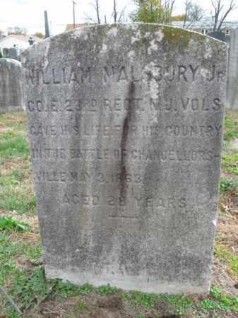 MALSBURY,JR., WILLIAM - Burlington County, New Jersey | WILLIAM MALSBURY,JR. - New Jersey Gravestone Photos