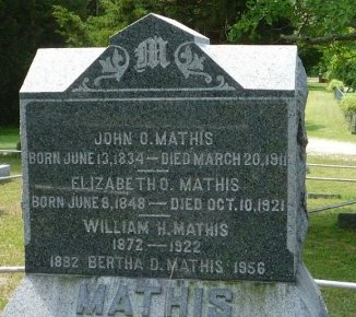 MATHIS, JOHN O. - Burlington County, New Jersey | JOHN O. MATHIS - New Jersey Gravestone Photos