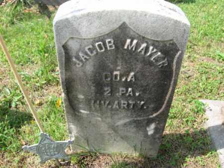 MAYER, JACOB - Burlington County, New Jersey | JACOB MAYER - New Jersey Gravestone Photos