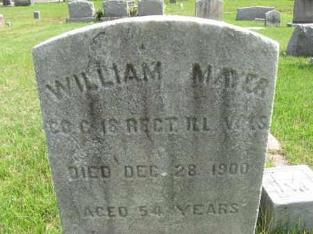 MAYER, WILLIAM - Burlington County, New Jersey | WILLIAM MAYER - New Jersey Gravestone Photos