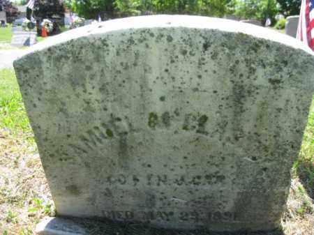 MCCLASKEY, SAMUEL K. - Burlington County, New Jersey | SAMUEL K. MCCLASKEY - New Jersey Gravestone Photos