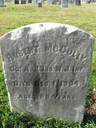 MCCULLY, ROBERT - Burlington County, New Jersey | ROBERT MCCULLY - New Jersey Gravestone Photos