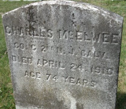 MCELWEE, CHARLES - Burlington County, New Jersey | CHARLES MCELWEE - New Jersey Gravestone Photos