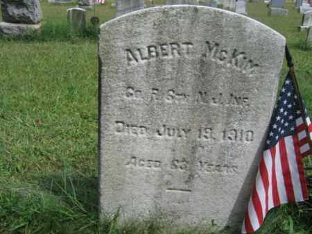 MCKIM, ALBERT - Burlington County, New Jersey | ALBERT MCKIM - New Jersey Gravestone Photos