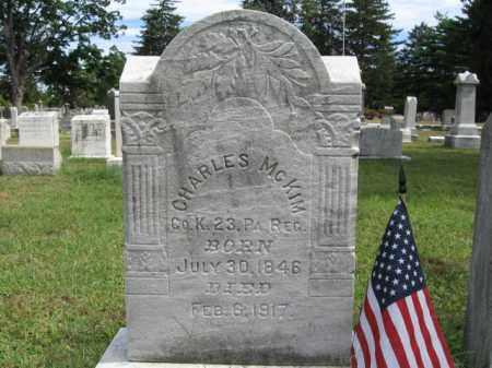 MCKIM, CHARLES - Burlington County, New Jersey | CHARLES MCKIM - New Jersey Gravestone Photos