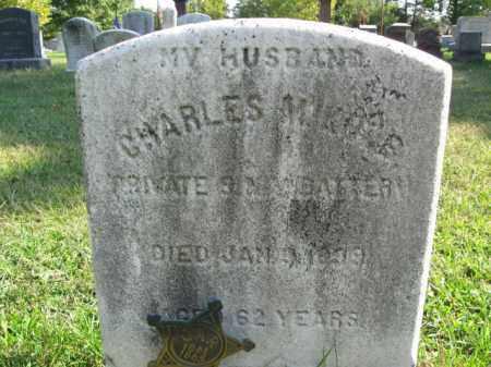 MIKLER (MILLER), CHARLES - Burlington County, New Jersey   CHARLES MIKLER (MILLER) - New Jersey Gravestone Photos