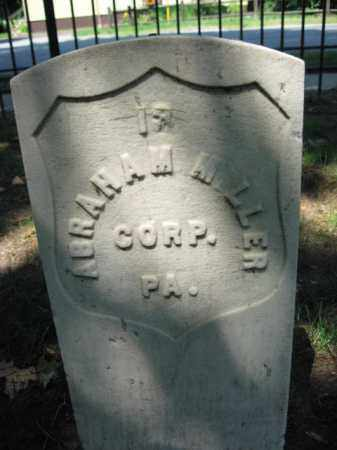 MILLER, CORP.ABRAHAM - Burlington County, New Jersey   CORP.ABRAHAM MILLER - New Jersey Gravestone Photos